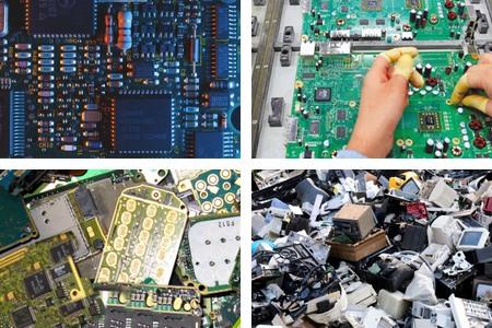 含金的电子元件怎么回收-「电子芯片回收」
