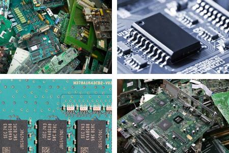 回收液晶驱动IC之-「线路板废料回收」