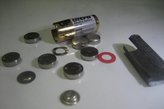 大量报废银钮扣电池-「废旧电池回收」