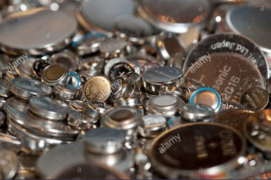 大量报废氧化银电池-「电池片回收」