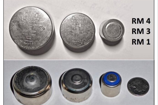大量报废银锡电池-「废电池回收」